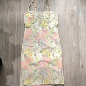 Alice + Olivia bustier floral dress